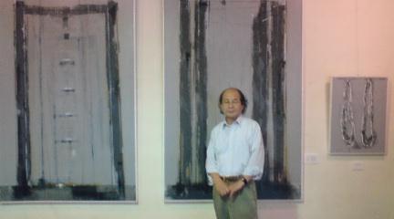 二子石先生の個展
