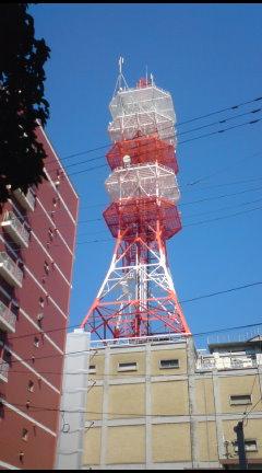NTTの電波塔