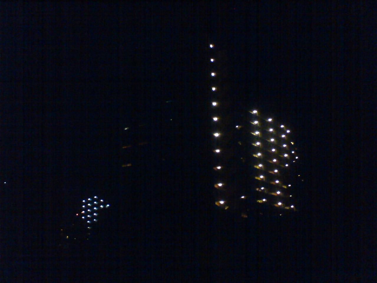 夜のティアラ