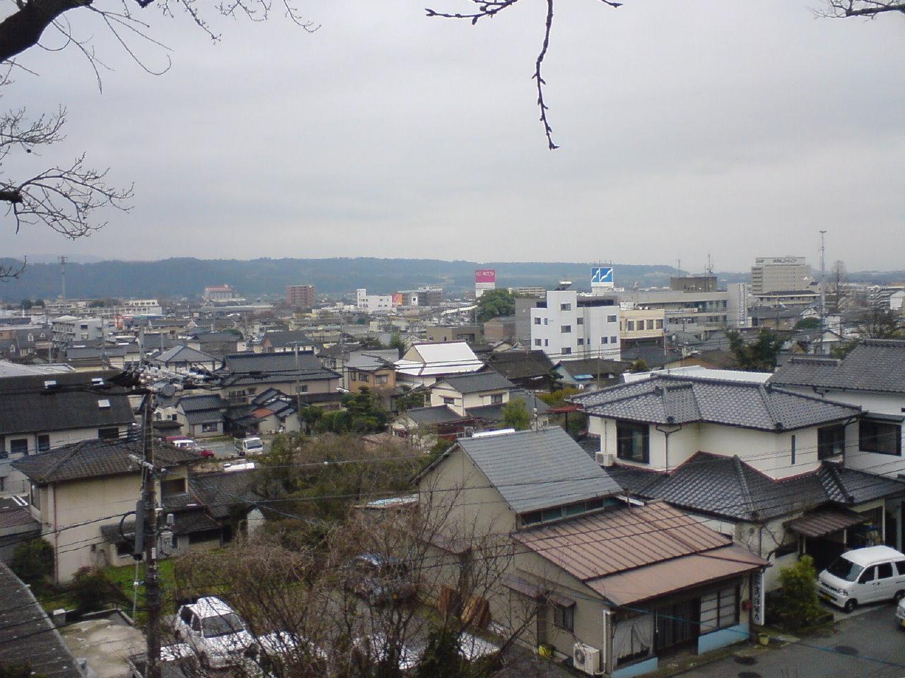 光尊寺からの眺め