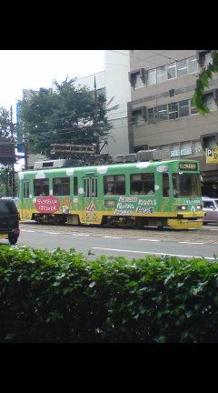 お米電車 路面電車16