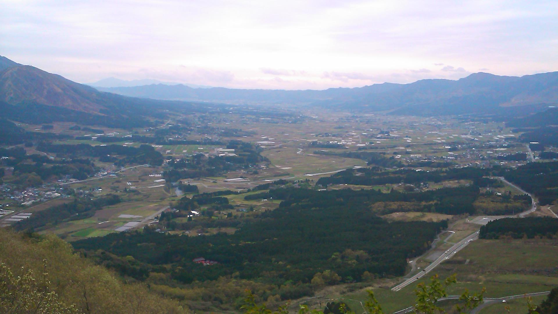 俵山展望所からの眺め